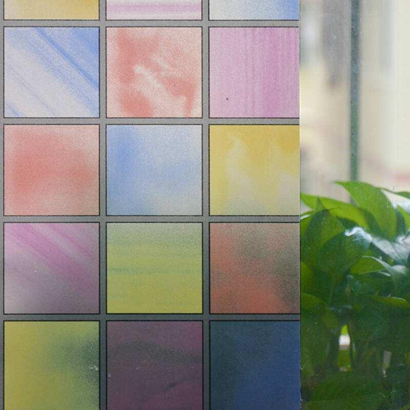 彩色磨砂膜