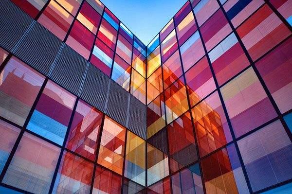 彩色装饰玻璃膜