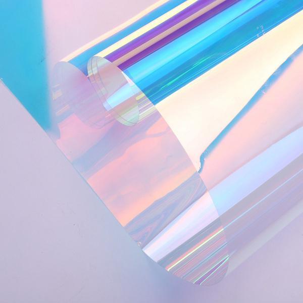 七彩炫彩装饰玻璃膜批发