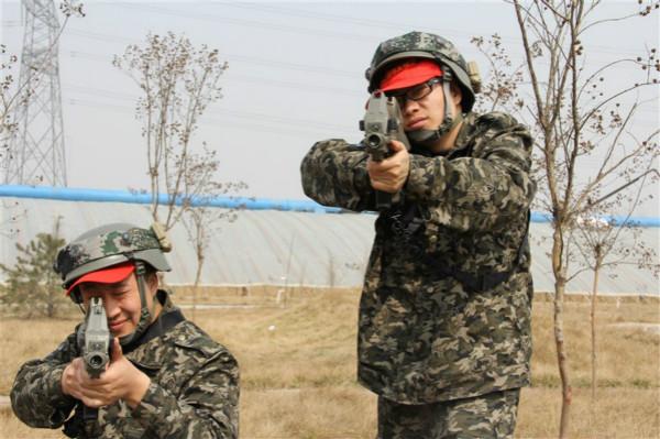 石家莊真人CS軍事訓練