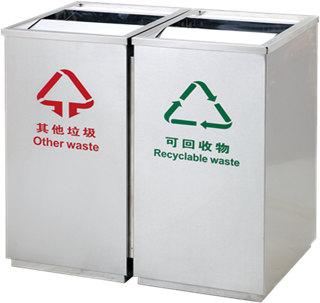 郑州不锈钢垃圾桶厂家