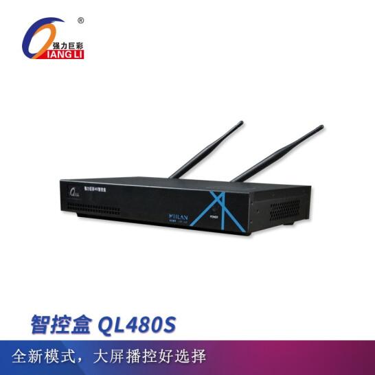 强力巨彩智控�?QL480S LED昄���屏播攑֤�理器 黑色