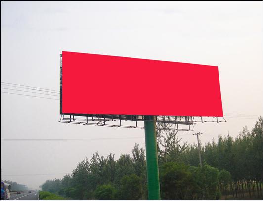 高速公路廣告牌位置