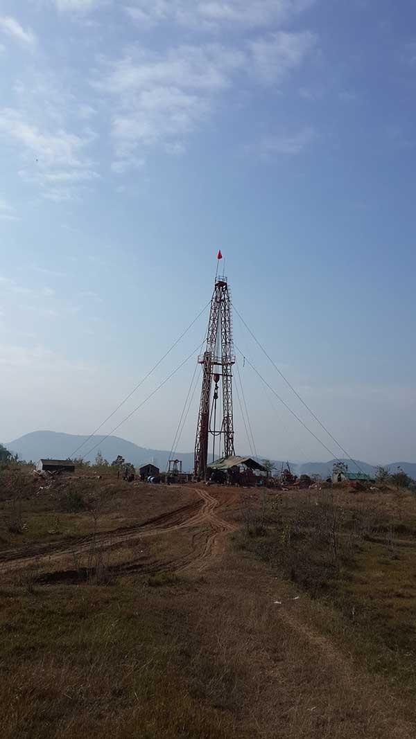 地热钻井施工