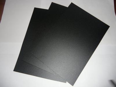 黑色磨砂PC卷材-细砂/哑光