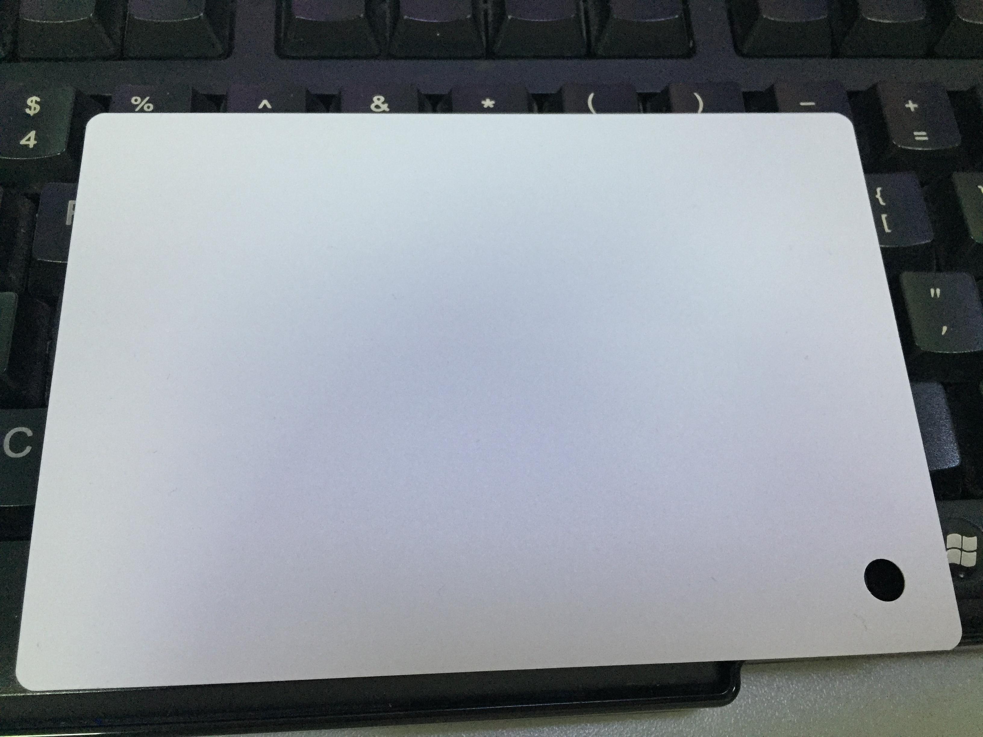灰色磨砂PC