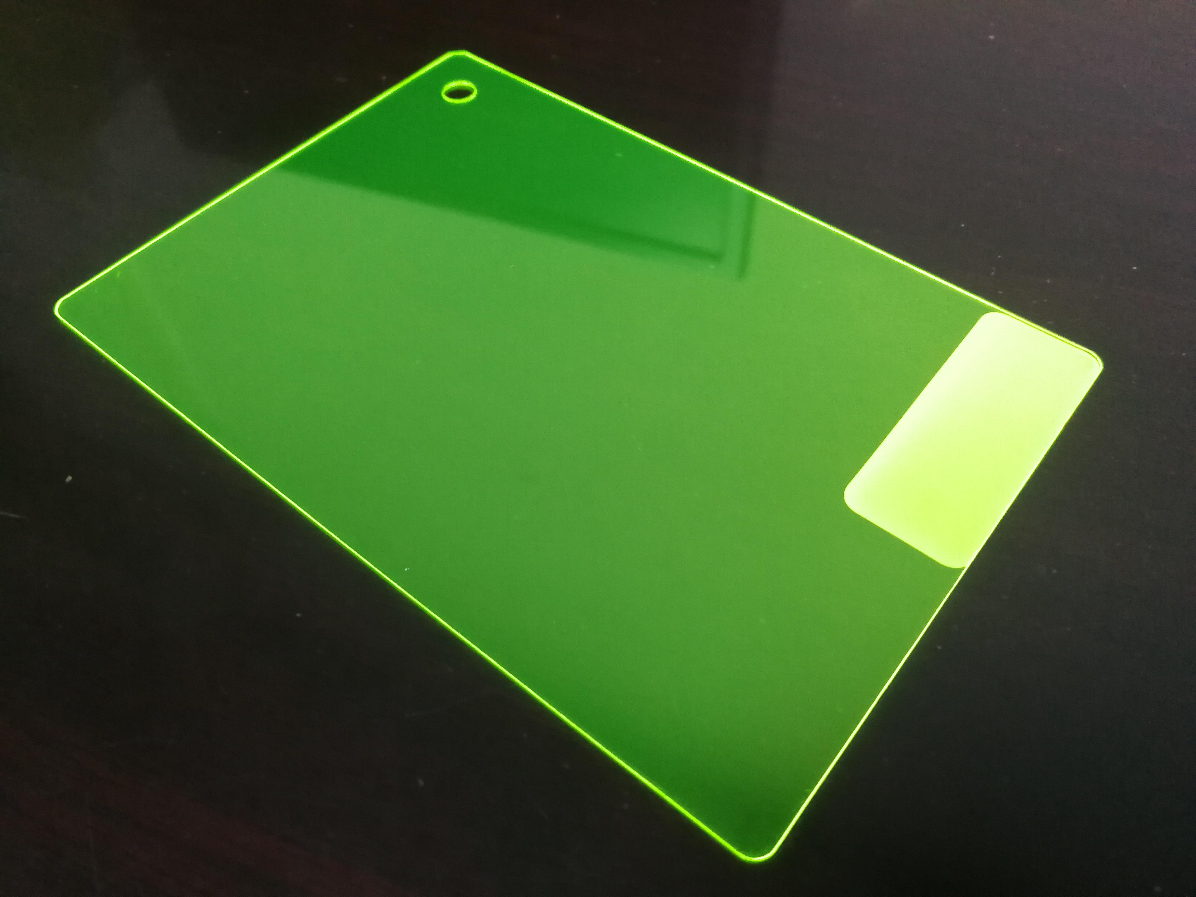 PC颜色片-荧光黄