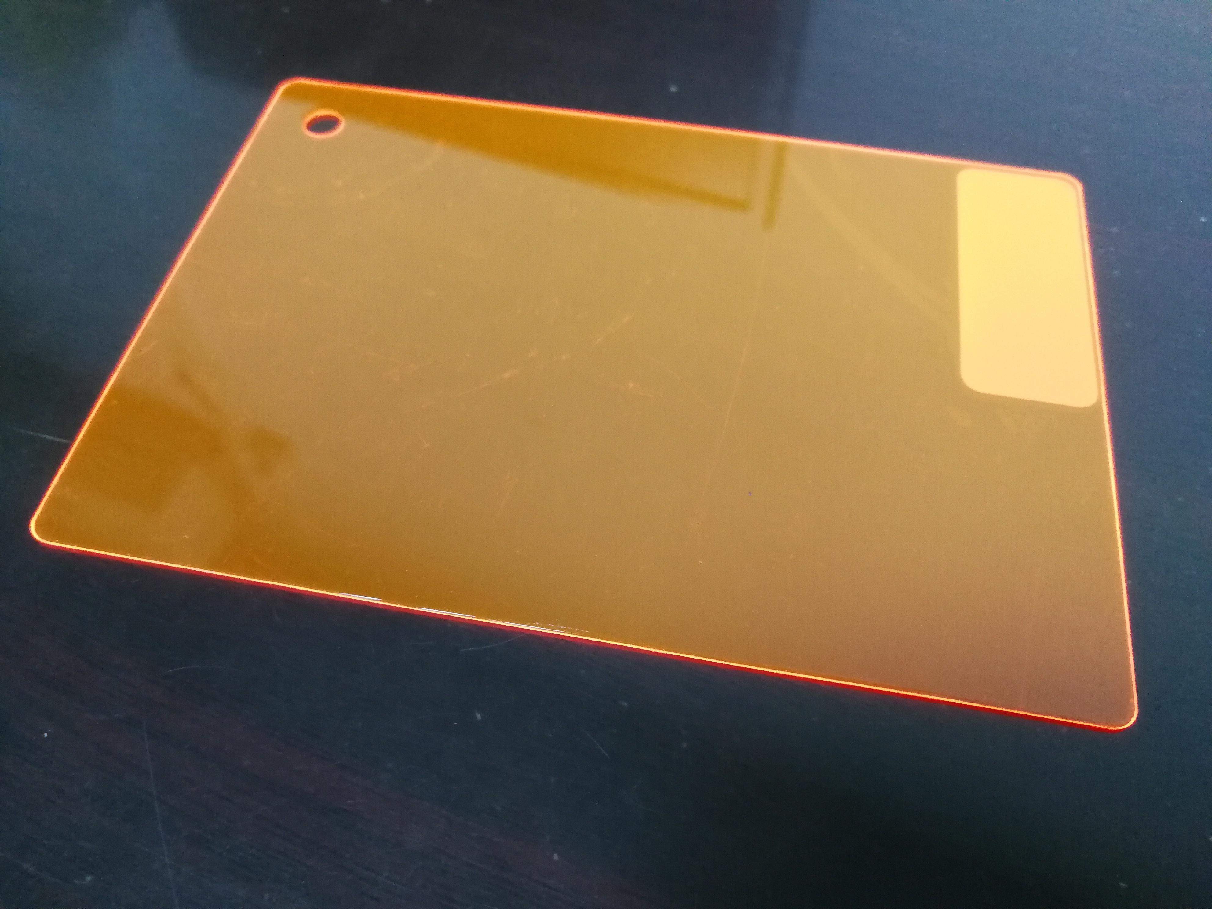 PC颜色片-荧光橙