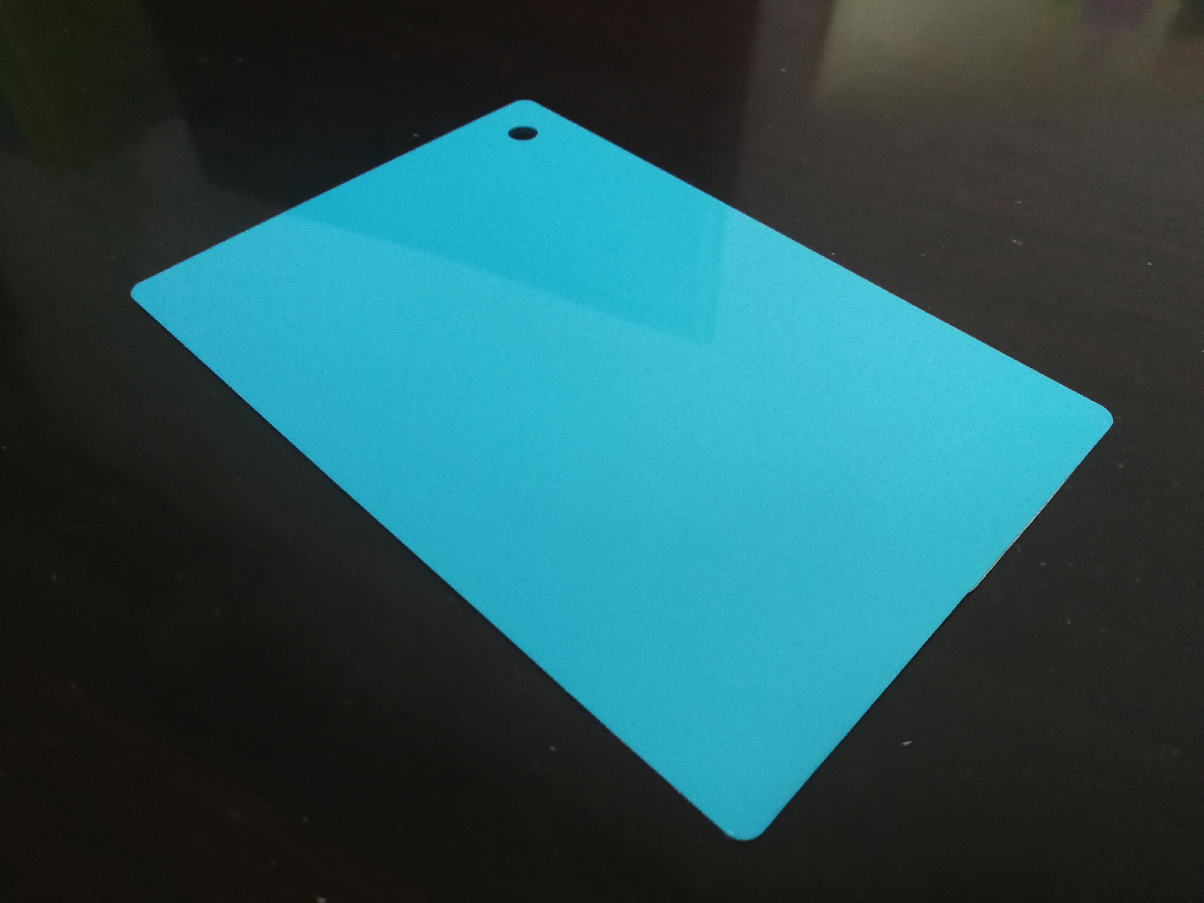 PC颜色片-蓝色