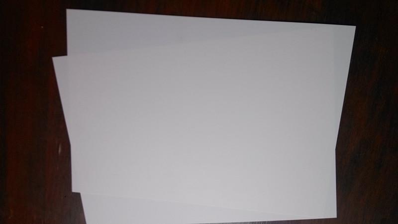 乳白色磨砂PC-光面/细砂