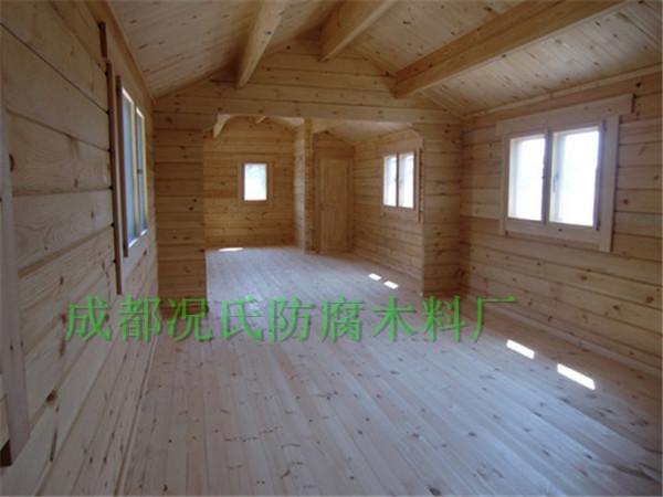 防腐木生产厂