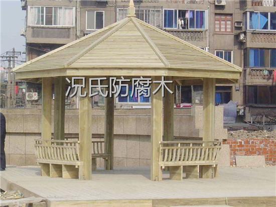 四川防腐木凉亭定制