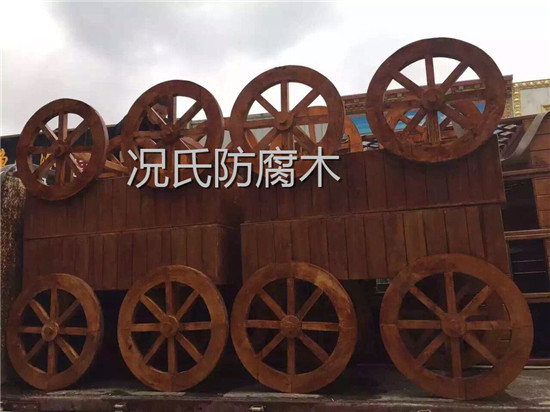 成都防腐木凉亭生产厂家