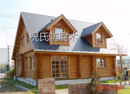 四川防腐木木屋施工