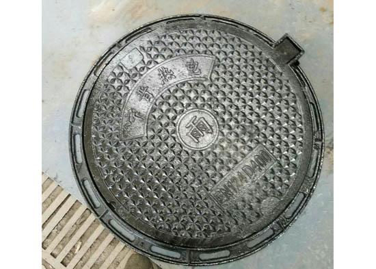 防盗球墨铸铁井盖