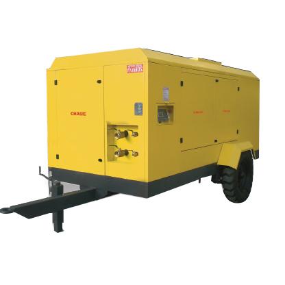 电动移动螺杆式空气压缩机