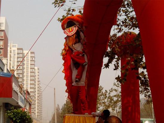 郑州舞龙舞狮