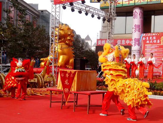 舞狮子表演艺术团