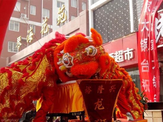 郑州舞狮舞龙表演
