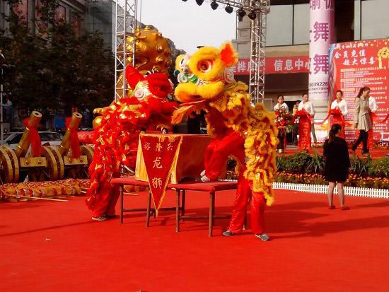 郑州舞龙舞狮表演艺术