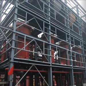 循环框架钢结构工程