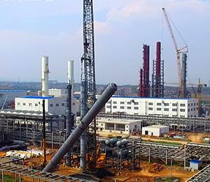 钢结构设备塔安装工程
