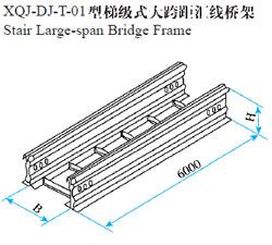 梯级式大跨距汇线桥架
