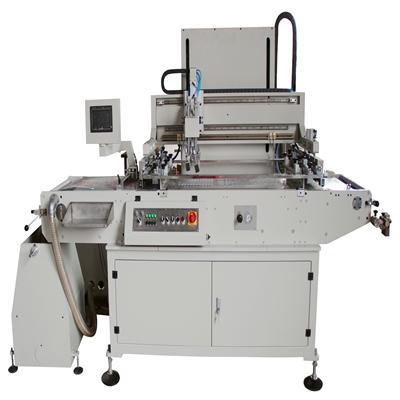 網版印刷機工作流程