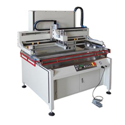 半自動平面絲印機