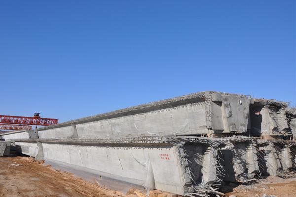 桥梁预制板