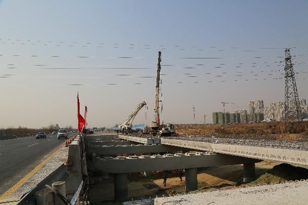 桥梁空心板