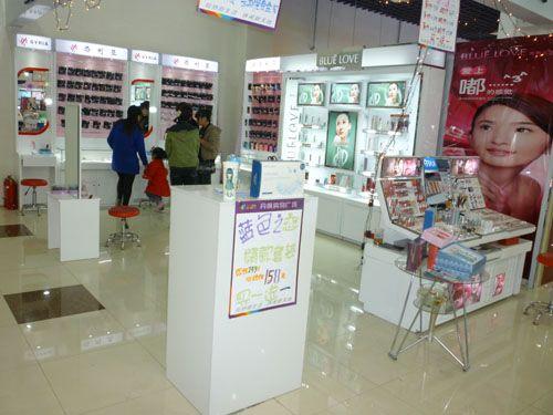 河南化妆品展示柜制作厂家