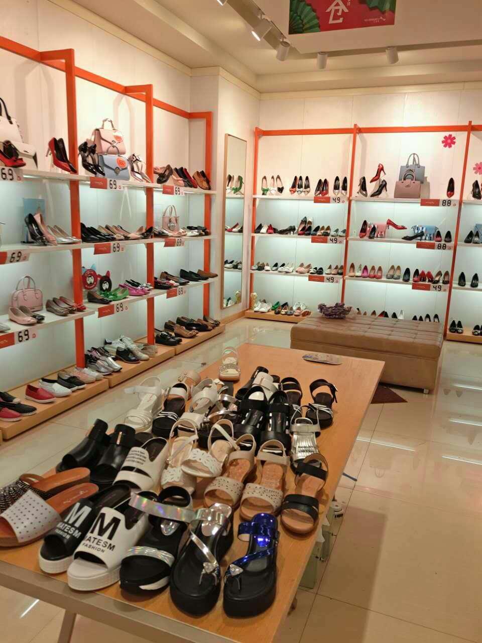 河南鞋柜展示柜