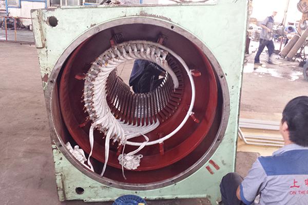 变频电机维修