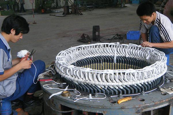 河南高压电机维修