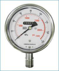 无锡不锈钢压力表