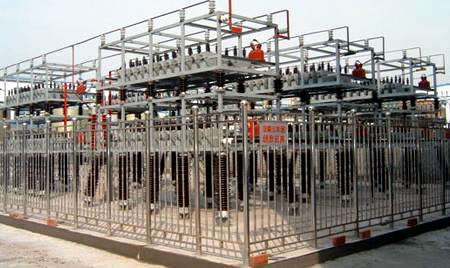 高压框架式补偿装置