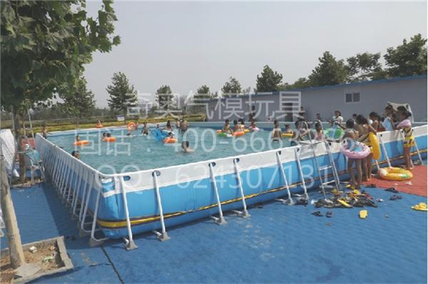 平顶山支架游泳池制造商厂家直销,充气玩具,移动式游泳池采购