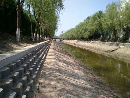 扬州盐城利民河河道整治