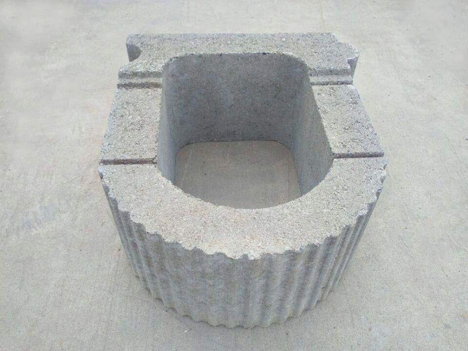 扬州挡土墙490x400x200