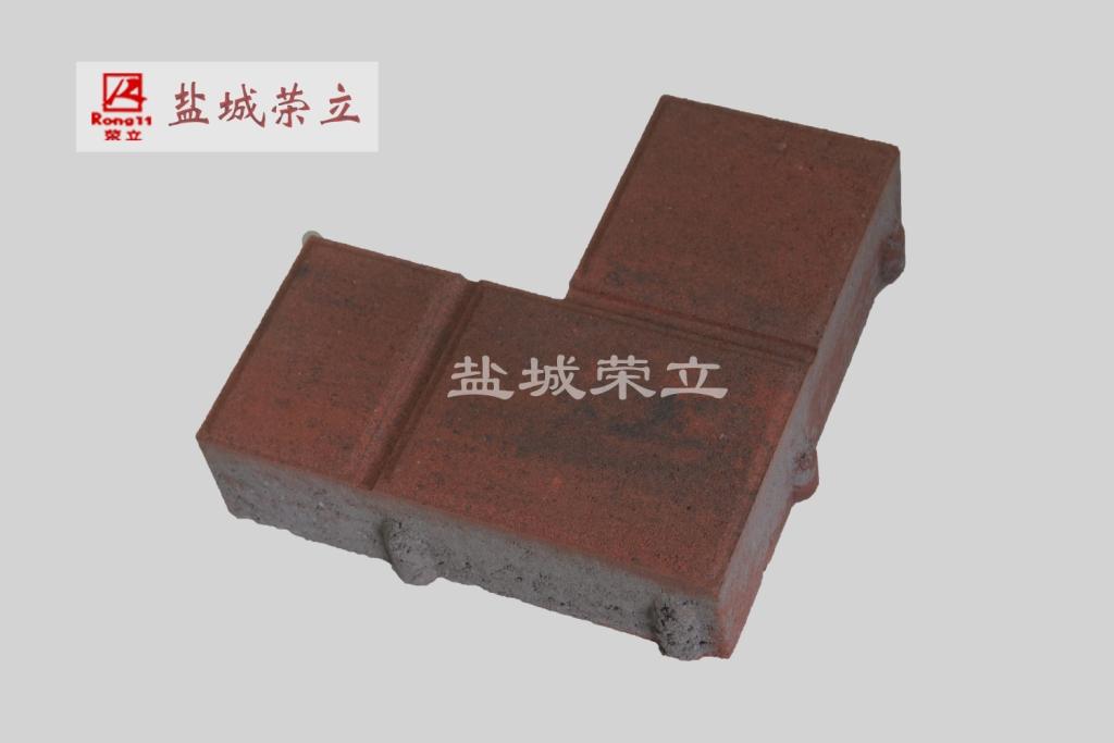 L型幻彩缝隙透水砖