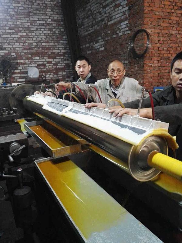 长轴刷镀厚银技术