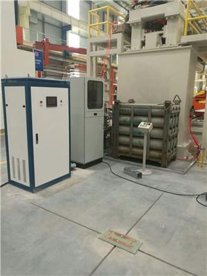 AGV智能充電站工作現場