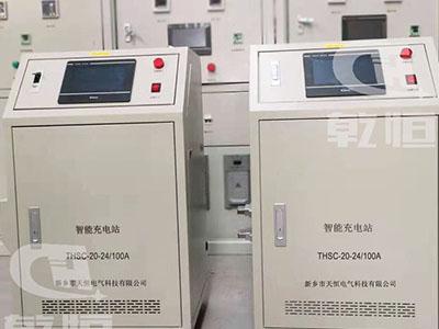 24V/100A自动伸缩充电