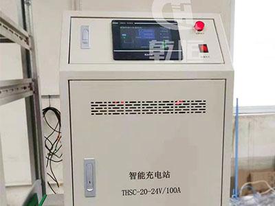 24V/100A自动伸缩充电机