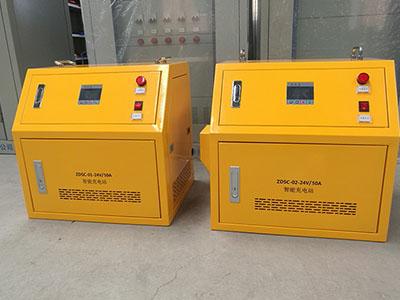 液晶屏自动伸缩充电站24V/50A