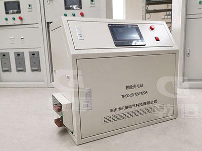 72V/100A自動伸縮充電站