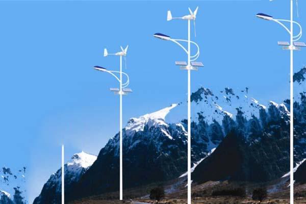 風光互補太陽能路燈廠家