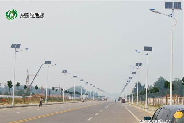 山西河津太陽能路燈