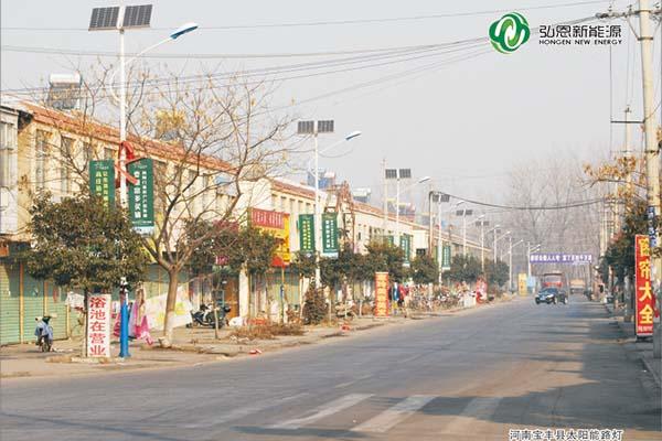 優質新農村太陽能路燈供應